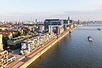 Ballonfahrt über Köln - Rheinauhafen, Wohnwerft 18.20, Kranhäuser-RS-4053.jpg
