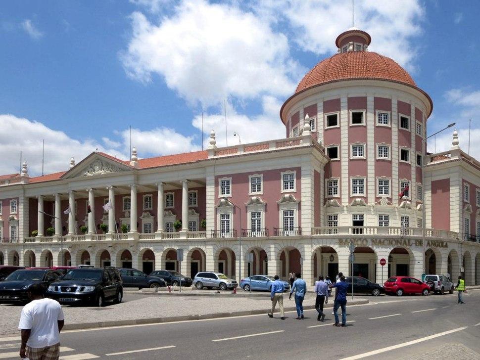 Banco Nacional de Angola in Luanda - Angola 2015