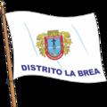 Bandera del Distrito La Brea.png