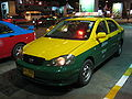 Bangkok Toyota Corolla Altis yellow taxi.JPG