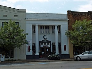 National Register of Historic Places listings in Baldwin County, Alabama - Image: Bank of Fairhope Sept 2012