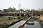 Bara Pulah bridge near Nizammudin. Built 1621-1622 A.D.