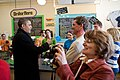 Barack Obama during a stop at Donckers in Marquette, Mich., Feb. 10, 2011.jpg