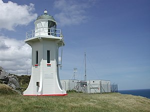 Baring Head Lighthouse - Baring Head Lighthouse