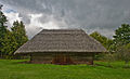 Barn, Lietuvos Kaimo Muziejus, Rumsiskes, Lithuania, Sept. 2008 - Flickr - PhillipC.jpg