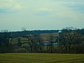 Barn and Silo Though the Trees - panoramio.jpg