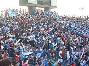 Barra Los Cruzados final de Copa Chile 2011.jpg