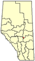 Bashaw, Alberta Location.png