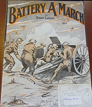 Battery A March -  Another Edition