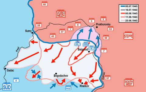 Bitwa na łuku kurskim - Wikiwand