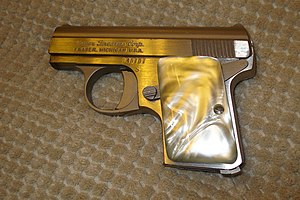 FN Baby Browning - Bauer .25 Auto pocket pistol.