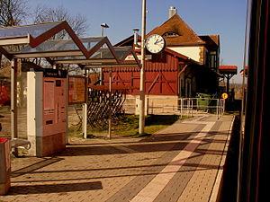 Baunach - Railway station