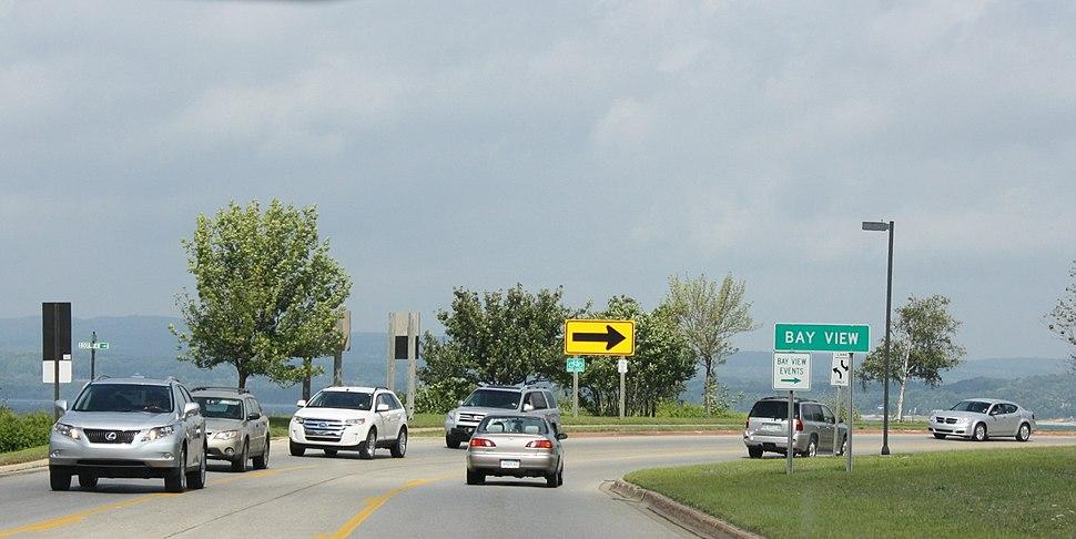Bay View Michigan Sign US31