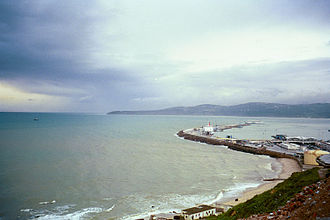Bay of Tangier - Bay of Tangier from the western end