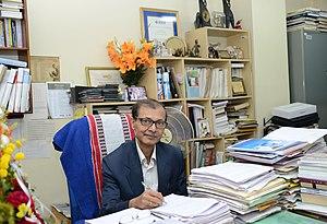 Bidyut Baran Chaudhuri - Chaudhuri at ISI Office, 2015