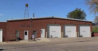 Beemer, Nebraska - Fire station