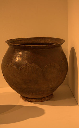 Lobi people - A ceramic beer-brewing pot made and used by the Lobi people, Burkina Faso.
