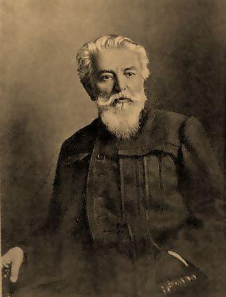 Alexander Beggrov - Portrait of Beggrov by an unknown artist (1890)