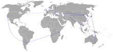 Beijing 2008 Torch Relay Route.png