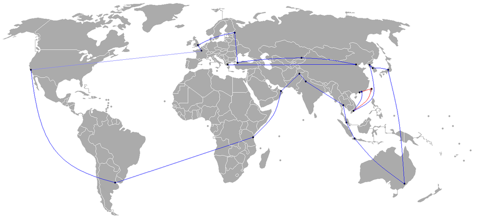 Beijing 2008 Torch Relay Route