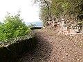Beim 366 km langen Neckartalradweg, Wanderweg zur Margaretenschlucht - panoramio.jpg