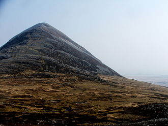 Paps of Jura - Beinn Shiantaidh from the south