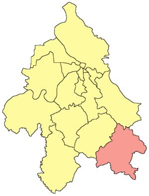 Mladenovac - Image: Belgrade Mladenovac