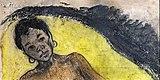 Bemberg Fondation Toulouse - La Tahitienne - Paul Gauguin Lavis aquarelle 41x25.5.jpg