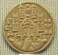 Bergamo, grosso da 6 imperiali di federico II, 1220-1250.JPG