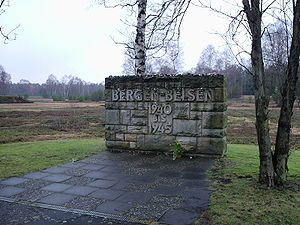 Bergen Belsen Concentration Camp Entrance