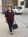 Berivan Xalid, culture minister of Cizire Canton.jpg