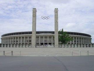 Berlin Olympiastadion main entrance 2