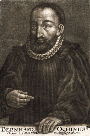 Bernardino Ochino - Image: Bernardo Ochino