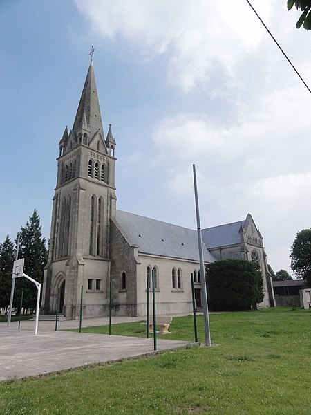 Berry-au-Bac (Aisne) Église