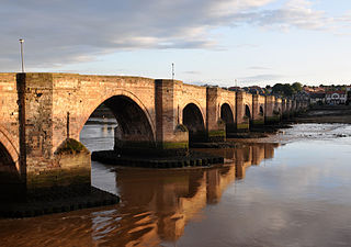Berwick Bridge Grade I listed stone bridge in the United Kingdom