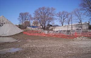 Concord Park Place - Construction site as of April 2008