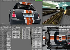 Screenshot di Blender Game Engine