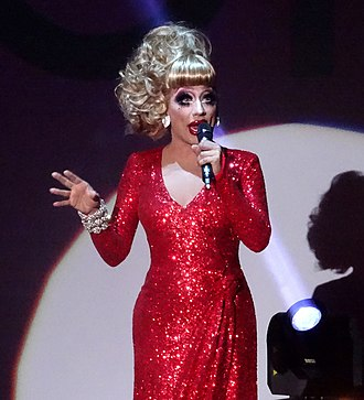 Bianca Del Rio - Bianca Del Rio performing onstage during her Rolodex of Hate Tour at the Amsterdam Theater in 2015.