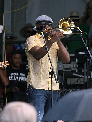 Big Sam (musician) - Big Sam in 2012