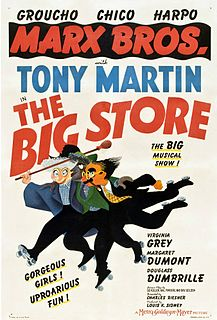 <i>The Big Store</i> 1941 Marx Brothers film by Charles Reisner