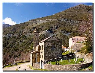 Bigorno Commune in Corsica, France