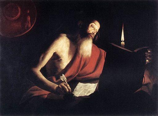 Bigot, Trophime - St Jerome
