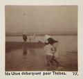 Bild från familjen von Hallwyls resa genom Egypten och Sudan, 5 november 1900 – 29 mars 1901 - Hallwylska museet - 91646.tif