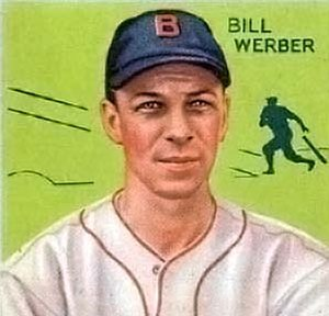 Billy Werber - Bill Werber 1934 baseball card