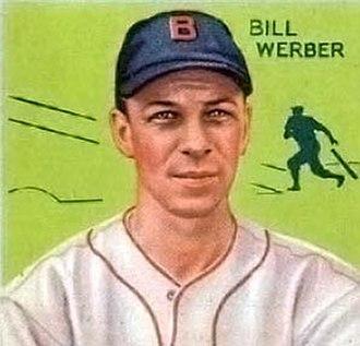 Billy Werber - Bill Werber 1934 baseball card
