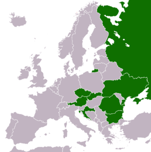 Billa (supermarket) - Billa in Europe