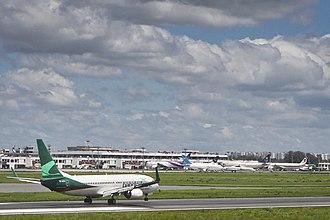 Shahjalal International Airport - Apron view