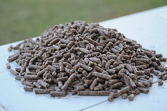 Energy policy of India - Biomass pellet fuel from India