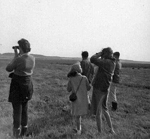 Scolt Head Island - Birdwatchers in 1961