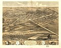 Birds eye view of the city of Lincoln, Logan County, Illinois 1869. LOC 73693359.jpg